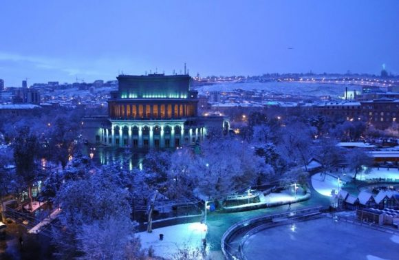 Winter tour to Armenia