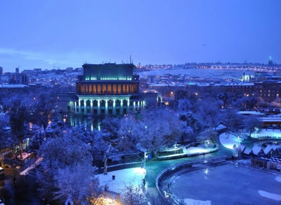 Зимний тур в Армению